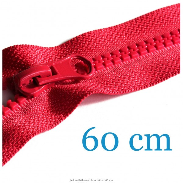60 cm Lynlås, delbar