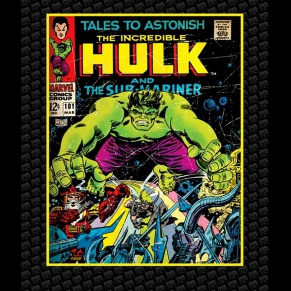"Bomuld Superhero-Panel ""Incredible Hulk"""