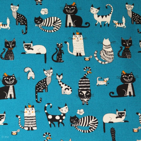 "Canvas ""So many Cats"""