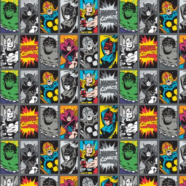 "Bomuld kollektion ""Marvel Comics III - Comic book heros"""