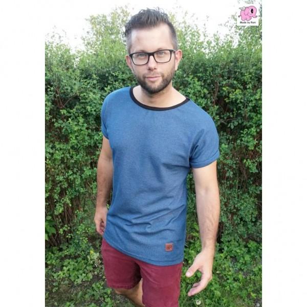 "Snitmønster til mænd ""T-Shirt"" str S - XXXXL"