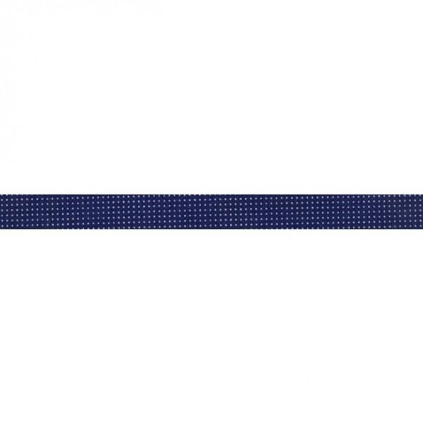 """Skråbånd """"Delft"""" mørkeblå"""