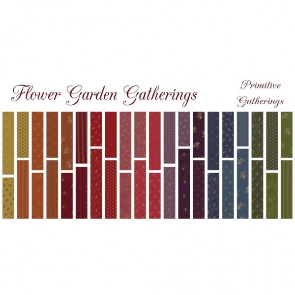 "Jelly Roll ""Flower Garden Gatherings"" fra moda"