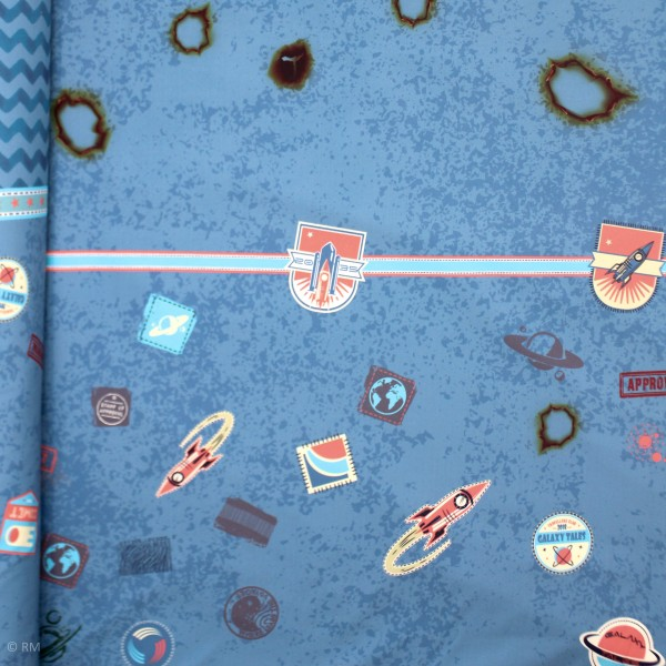 """Softshell """"Galaxy Patches"""" by Bienvenido Colorido"""