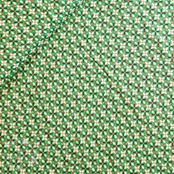 """Viskose """"Berrydrops"""" grøn by jolijou"""