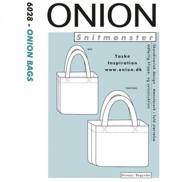 "Snitmønster Onion 6028 ""ONION BAGS"""