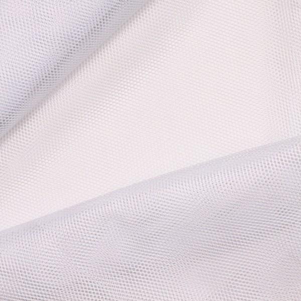 Net ensfarvet hvid