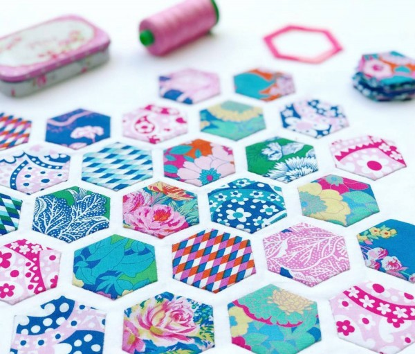 Paper Pieces Hexagons (100 stk)