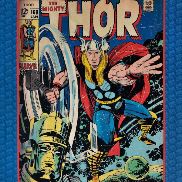 """Bomuld Superhero-Panel """"Thor"""""""