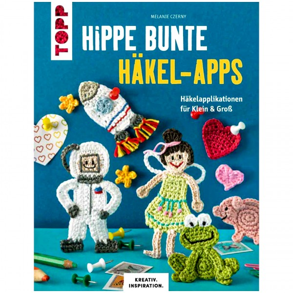 """Bog """"Hippe bunte Häkel-Apps"""""""