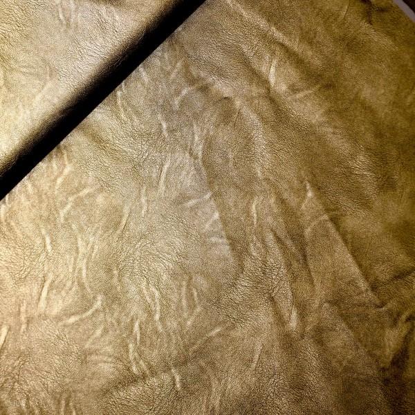 Kunst læder guld