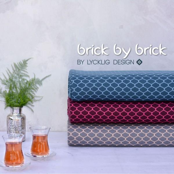 "Jacquard kollektion ""Brick by brick"" by Lycklig..."