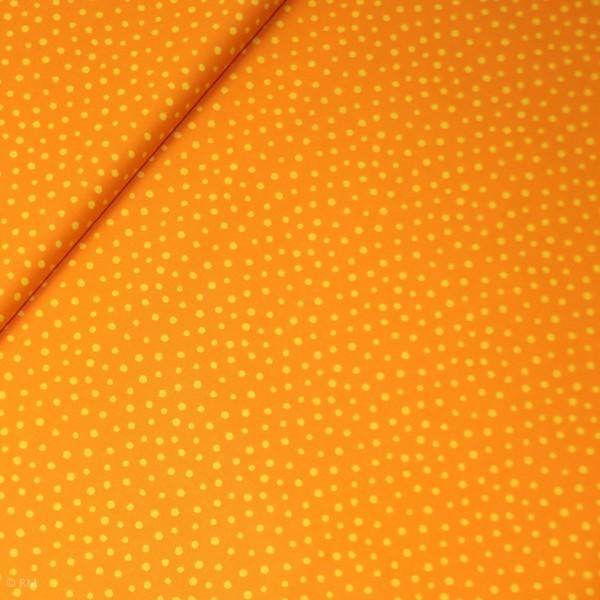 """Bomuld """"Junge Linie"""" orange konfetti"""