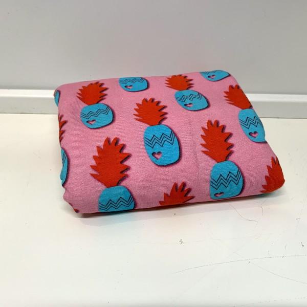 """75 cm Bomuldsersey """"Pineapple by jolijou"""" lyserød"""
