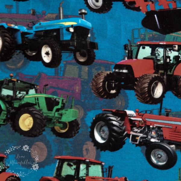 """Bomuldsjersey """"Landbrugsmaskiner"""""""