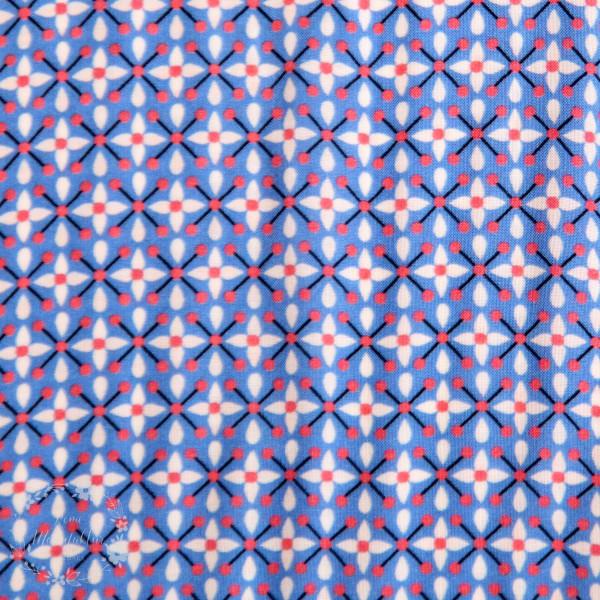 "Viskose ""Berrydrops"" blå by jolijou"