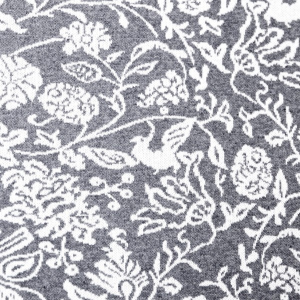 Genanvendt Jacquard Collection grå