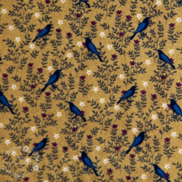 "Bomuld ""Moonshine Pattern 2529"" by Jan Mott of Grane Design"