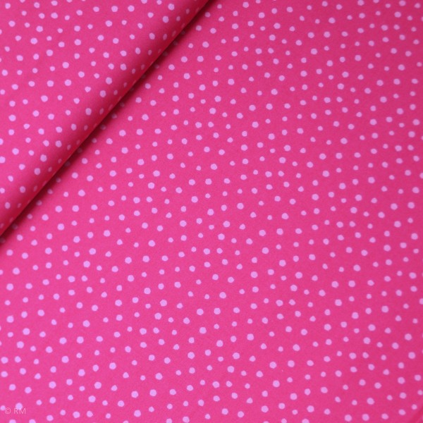 "Bomuld ""Junge Linie"" pink konfetti"