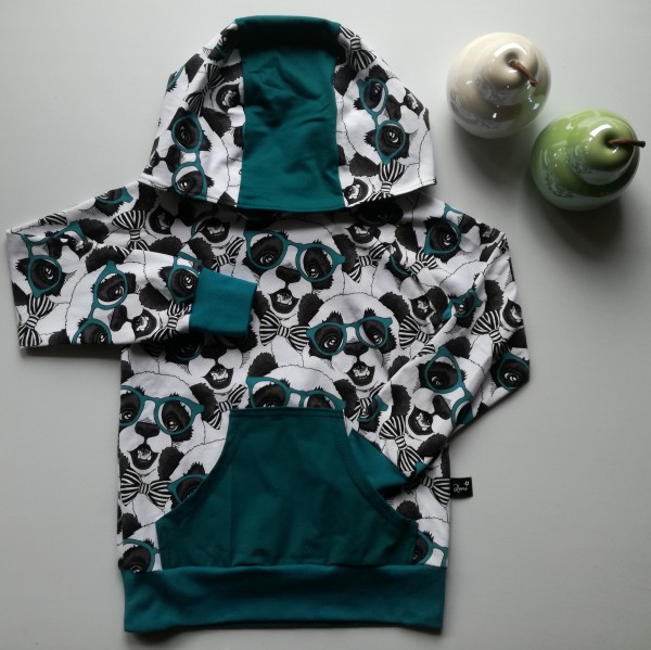 "Kids-Hoddie ""Cool Panda"" str 122"