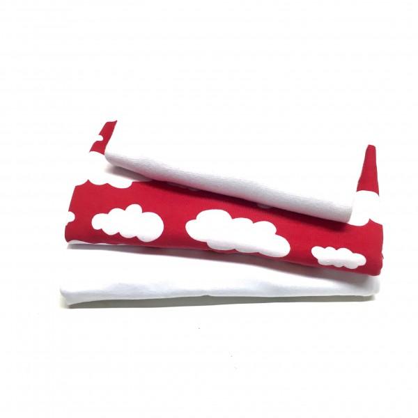 "10% SPAR-PAKKE Jersey ""Clouds"" rød"
