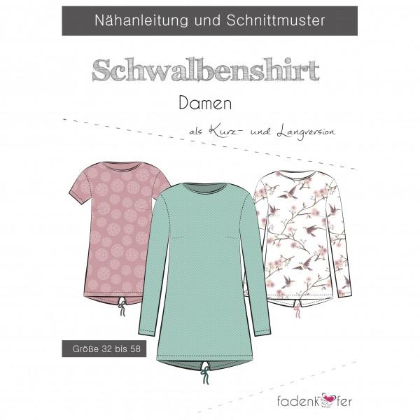 "Snitmønster Shirt ""Schwalbenshirt"" Dame str 32..."
