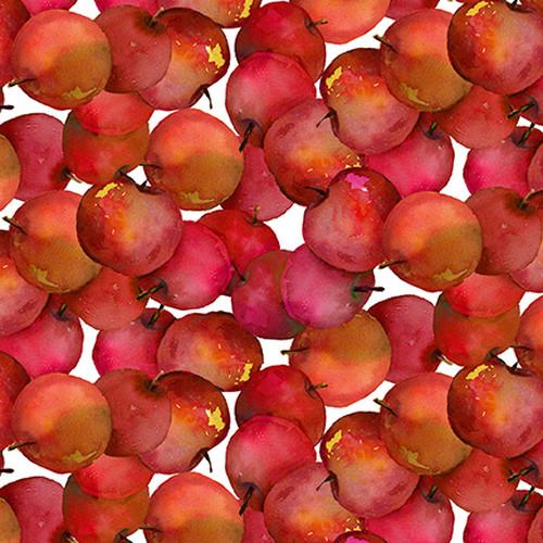 """Bomuld """"Harvest Whisper - Æbler"""" Patt 5740 by..."""