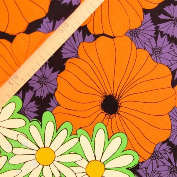 "Canvas ""Retro Flowers"" fra KOKKA"