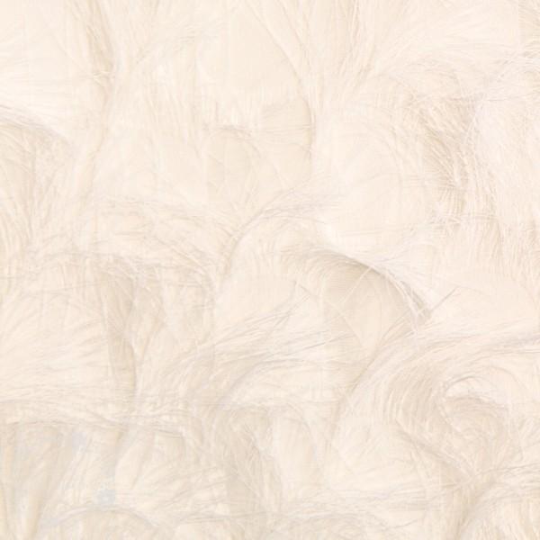 Modestof med fringe (Jacquard)