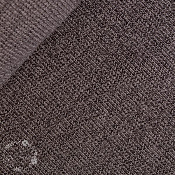 Bomuld-Strik blå melange
