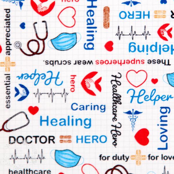 "Bomuld ""Calling all nurses"""