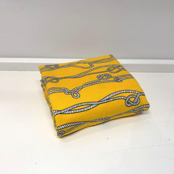 "50 cm Bomuldsjersey ""Sømand knude"" gul"