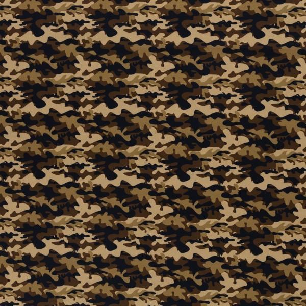 """Bomuld """"Kim"""" camouflage"""