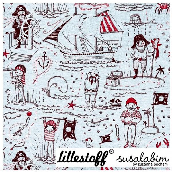 """BIO-Bomuldsjersey """"Piratenleben"""" by SUSAlabim"""
