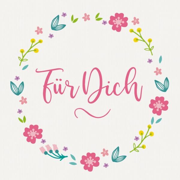 """Gavekort """"Für Dich"""""""