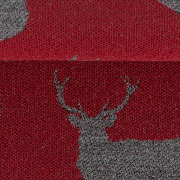 "Double-Face Jacquard ""Albert"" Deer"
