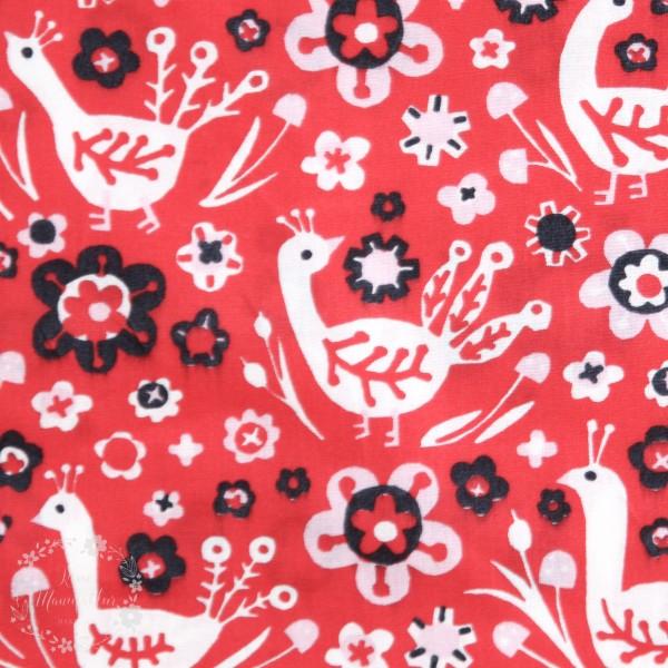 """BIO-Bomuld """"Folkland"""" kb-02 fra Birch Fabrics"""