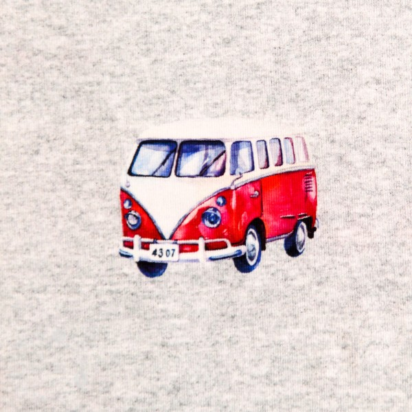 """Bomuldsjersey """"VW Bus"""" fra Fräulein von Julie"""