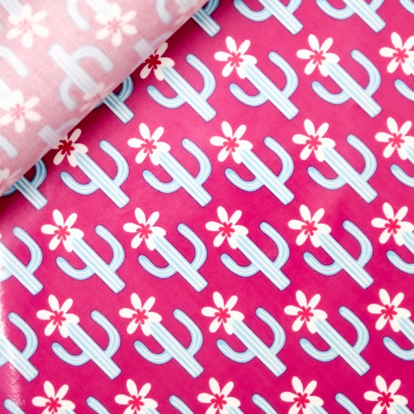 "Voksdug ""Cactus Blossom pink"" by jolijou"