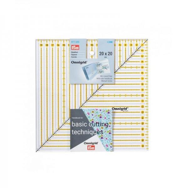 Omnigrid Lineal Square 20 x 20 cm