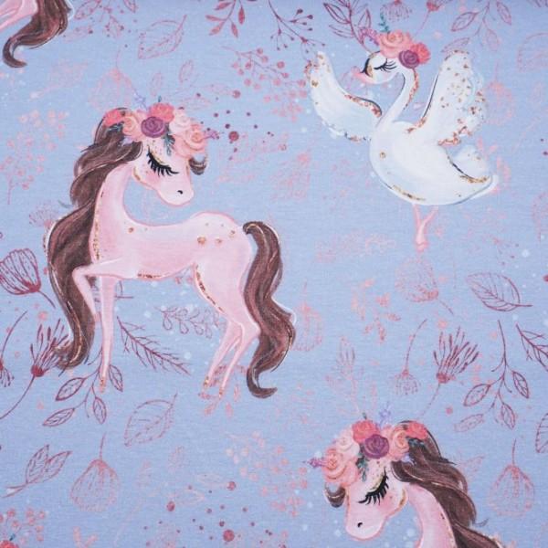 "BIO-Bomuldsjersey ""Ballerina Pony"""