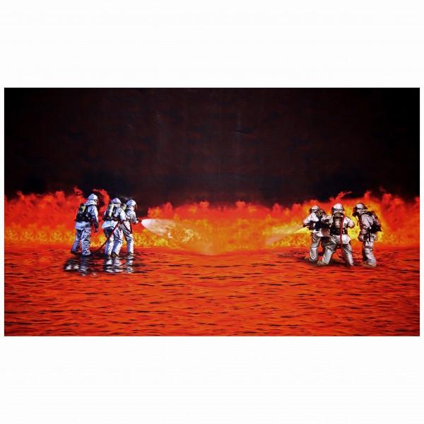 """Jersey-Panel """"Brandmænd"""" - 100 cm"""