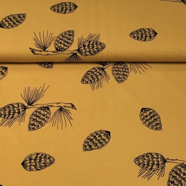"""BIO Jersey """"Pine Cones"""" by Bloome Copenhagen"""