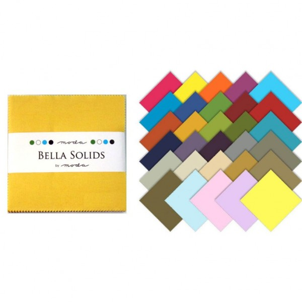 "Charm Pack kollektion 5`` Square ""Bella Solid""..."