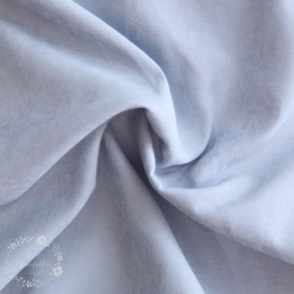 Fastvævet Cupro blågrå