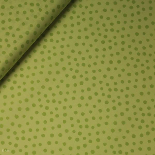 "Bomuld ""Junge Linie"" grøn konfetti"