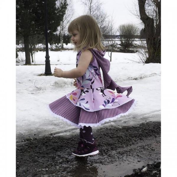 "Snitmønster til børn ""Fairy Princess"" str 80 - 164"