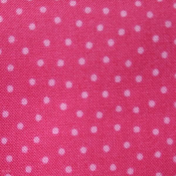 """Bomuld """"Junge Linie"""" pink med prikker"""