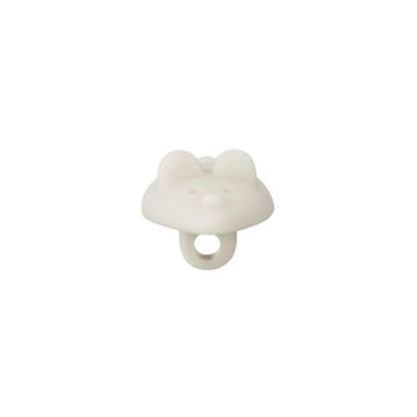 """18 mm Øsken-Knap """"Lille mus"""" (Social plastik)"""
