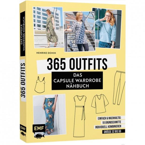 "Bog ""365 Outfits - Das Capsule Wardrobe Nähbuch"" str 32 - 50"
